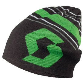 *Scott beanie Team 30 black/classic green - Hatut - 625-5410-1 - 1