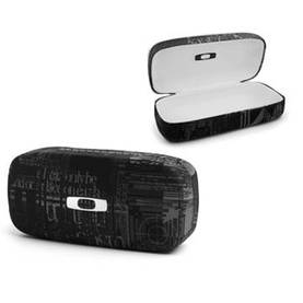 *Oakley Sunglass Case Sq O Hard Blk Headliner Graphics - Aurinkolasit - 672-100-270-001 - 1