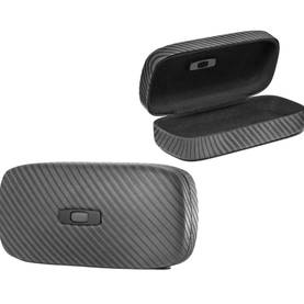 *Oakley Sunglass Case Square O Graphite Hard Case - Aurinkolasit - 672-07-582 - 1