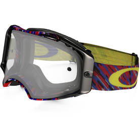 Oakley Goggles Airbrake MX Rain of Terror RB Clear lens - Ajolasit - 670-0034 - 1