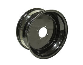 Bronco Steel wheel, black 14x7 4/156 4+3 - Vanteet - 74-06355 - 2