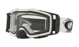 Oakley Goggles Front Line MX matte white speed w/clear - Ajolasit - 670-7087-05 - 2