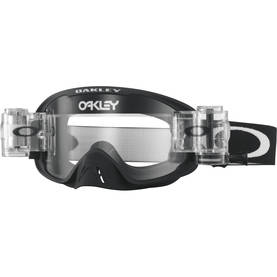 Oakley Goggles O2 MX Race-Ready Matte Black Clear lens Roll-Off - Ajolasit - 670-0045 - 1
