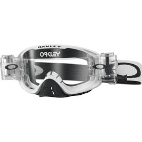 Oakley Goggles O2 MX Race-Ready Matte White Clear lens Roll-Off - Ajolasit - 670-0046 - 1