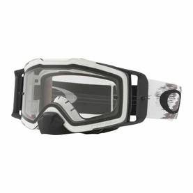Oakley Goggles Front Line MX Matte White Speed w/Clear Rolloff - Ajolasit - 670-7087-08 - 2